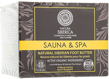 Natürliche nährende Fußbutter - Natura Siberica Foot Butter — Bild N1