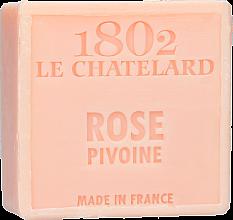 Düfte, Parfümerie und Kosmetik Seife Pfingstrose - Le Chatelard 1802 Soap Rose Pione