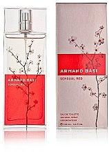 Armand Basi Sensual Red - Eau de Toilette — Bild N1