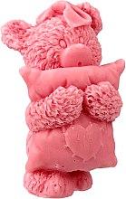 Düfte, Parfümerie und Kosmetik Handgemachte Naturseife Teddybär mit Kirschduft - LaQ