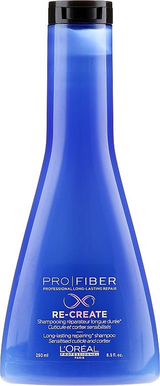 Regenerierendes Pflegeshampoo für feines, geschädigtes Haar - L'Oreal Professionnel Pro Fiber Re-Create Shampoo — Bild N1