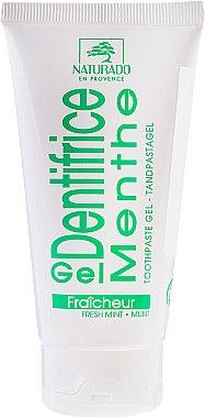 Bio Zahnpasta-Gel mit Minzgeschmack - Naturado Gel Dentifrice Bio Toothpaste Mint — Bild N1