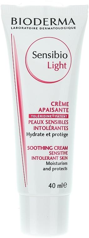 Beruhigende Gesichtscreme für empfindliche und problematische Haut - Bioderma Sensibio Light Soothing Cream