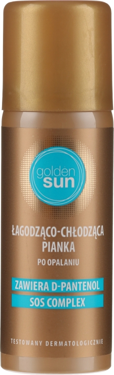 Körperschaum nach dem Sonnenbad mit D-Panthenol - Golden Sun — Bild N1