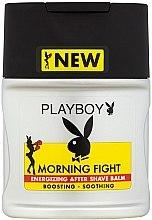 Düfte, Parfümerie und Kosmetik After Shave Balsam - Playboy Morning Fight After Shave Balm