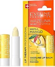 "Düfte, Parfümerie und Kosmetik Lippenbalsam ""Mango"" - Eveline Cosmetics Lip Therapy Proffesional Vaseline Lip Balm"