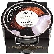 Düfte, Parfümerie und Kosmetik Soja-Duftkerze Black Coconut - House of Glam Daylight Collection Black Coconut Candle (Mini)