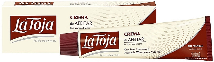 Rasiercreme für empfindliche Haut - La Toja Hidrotermal Classic Shaving Cream Sensitive Skin — Bild N1