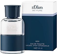 Düfte, Parfümerie und Kosmetik S. Oliver So Pure Men - Eau de Toilette
