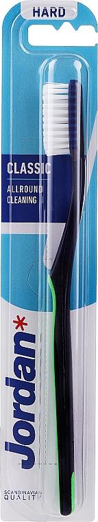 Zahnbürste Classic blau-grün - Jordan Classic Hard Toothbrush — Bild N1