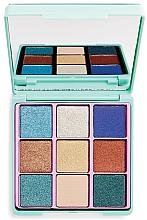 Düfte, Parfümerie und Kosmetik Lidschattenpalette - I Heart Revolution Glitter Palette