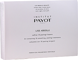 Düfte, Parfümerie und Kosmetik Gesichtspflegeset - Payot Liss Absolute (Gesichtspeeling 10x5g + Gesichtslotion 10x10ml + Gesichtsmaske 10x20g)