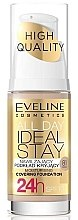Düfte, Parfümerie und Kosmetik Feuchtigkeitsspendende und langanhaltende Foundation LSF 10 - Eveline Cosmetics All Day Ideal Stay Foundation