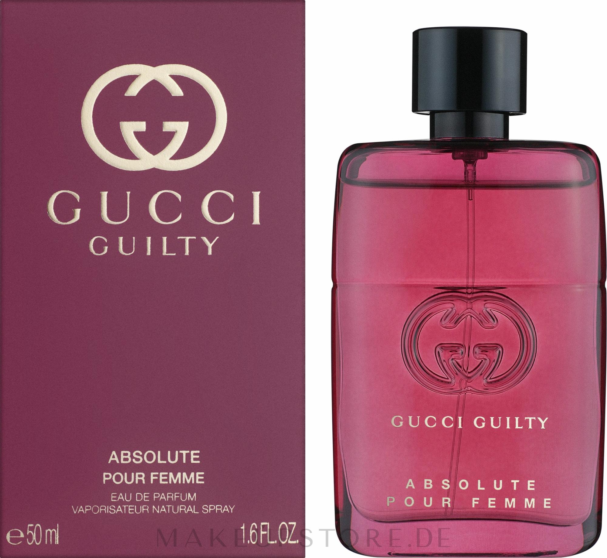 Gucci Guilty Absolute Pour Femme - Eau de Parfum  — Bild 50 ml