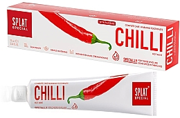 Düfte, Parfümerie und Kosmetik Wärmende Zahnpasta mit Chili - Splat Special