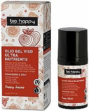 Düfte, Parfümerie und Kosmetik Ultra nährendes Gesichtsgel-Öl mit Tomate und Goji-Beeren - Bio Happy Face Gel Oiltomato And Goji Berry
