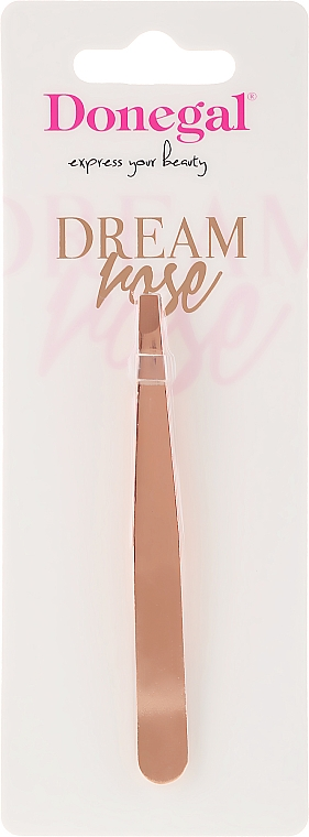 Pinzette Dream Rose 4115 gerade - Donegal Straight Tip Tweezers Dream Rose