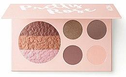 Düfte, Parfümerie und Kosmetik Schminkpalette - Alcina Pretty Rose Blush & Eye Shadow Palette