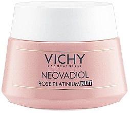 Düfte, Parfümerie und Kosmetik Revitalisierende und stärkende Rosé-Creme für reife Haut - Vichy Neovadiol Rose Platinum Night Cream