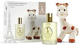 Düfte, Parfümerie und Kosmetik Parfums Sophie La Girafe - Duftset (Aromatisches Körperwasser 100ml + Spielzeug)