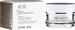 Düfte, Parfümerie und Kosmetik Leichte revitalisierende 24h Feuchtigkeitspflege mit Vulkangestein-Extrakt - Artdeco Pure Minerals Vitamin Moisture Cream