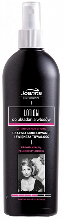 Lotion für Haarstyling sehr starker Halt - Joanna Professional Lotion for Hair Styling Very Strong