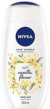 Creme-Duschgel mit Vanilleduft - Nivea Soft Vanilla Flower — Bild N1