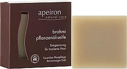 Düfte, Parfümerie und Kosmetik Haarseife für trockenes Haar - Apeiron Brahmi Plant Oil Soap