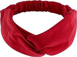 Düfte, Parfümerie und Kosmetik Haarband Knit Twist rot - MakeUp Hair Accessories