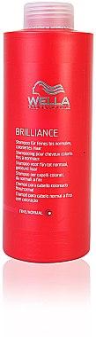 Farberhaltendes Shampoo für feines bis normales coloriertes Haar - Wella Professionals Brilliance Shampoo — Bild N5