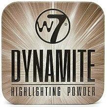 Düfte, Parfümerie und Kosmetik Puder-Highlighter - W7 Dynamite Highlighting Powder