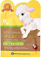 Düfte, Parfümerie und Kosmetik Feuchtigkeitsspendende Anti-Falten Gesichtsmaske Schaf - Belleza Castillo Edge Cutimal Sheep Anti-Wrinkle Mask