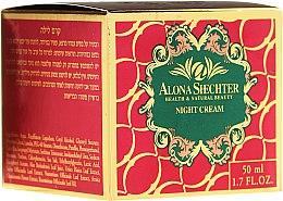 Düfte, Parfümerie und Kosmetik Nachtcreme für das Gesicht - Alona Shechter Night Cream