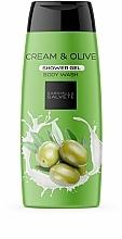 Düfte, Parfümerie und Kosmetik Duschgel mit Oliven - Gabriella Salvete Cream & Olive Shower Gel