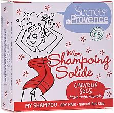 Düfte, Parfümerie und Kosmetik Festes Shampoo für trockenes Haar mit rotem Ton - Secrets De Provence My Shampoo Natural Red Clay