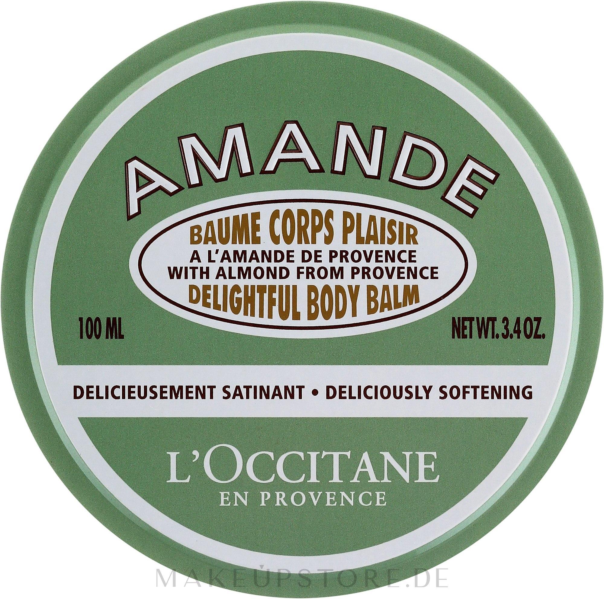 Körperbalsam - L'Occitane Almond Delightful Body Balm — Bild 100 ml