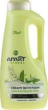 Düfte, Parfümerie und Kosmetik Cremiger Badeschaum mit grünem Tee und Maiglöckchen - Apart Natural Body Care Bath Foam