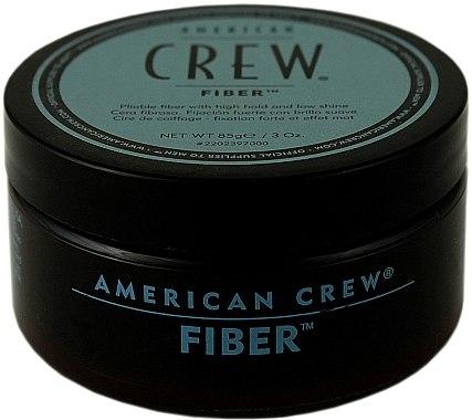 Modellierende Haarpasta mit starkem Halt und Matt-Effekt - American Crew Classic Fiber — Bild N1