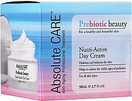 Düfte, Parfümerie und Kosmetik Feuchtigkeitsspendende Tagescreme mit Hyaluronsäure, Sheabutter und Squalan - Absolute Care Prebiotic Beauty Nutri-Active Day Cream
