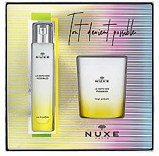 Düfte, Parfümerie und Kosmetik Nuxe Le Matin Des Possibles - Duftset (Eau de Parfum 50ml + Duftkerze 140g)