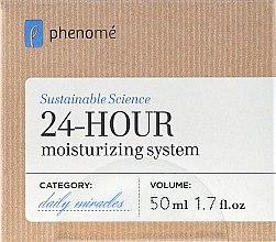 Düfte, Parfümerie und Kosmetik Intensiv feuchtigkeitsspendende Gesichtscreme - Phenome 24 Hour Moisturizing System Cream