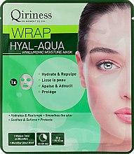 Düfte, Parfümerie und Kosmetik Feuchtigkeitsspendende Tuchmaske mit Hyaluron - Qiriness Wrap Hyal-Aqua Hyaluronic Moisture Mask