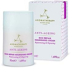 Düfte, Parfümerie und Kosmetik Pflegende Anti-Aging Gesichtscreme - Aromatherapy Associates Anti-Ageing Rich Repair Nourishing Cream