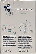 Gesichtspflegeset - Nivea Essential Care (Creme 50ml + Mizellen-Reinigungswasser 200ml) — Bild N2