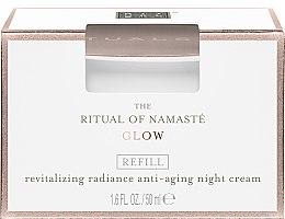 Düfte, Parfümerie und Kosmetik Revitalisierende Anti-Aging Nachtcreme - Rituals The Ritual Of Namaste Radiance Anti-Aging Night Cream Refill (Nachfüller)