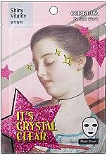 Düfte, Parfümerie und Kosmetik Aufhellende Gesichtsmaske mit Pfefferextrakt - Oerbeua Shiny Vitality Radiant Mask