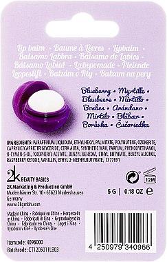 Lippenbalsam mit Heidelbeergeschmack - Cosmetic 2K Blueberry Lip Gloss — Bild N2