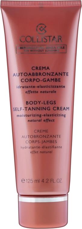 Selbsbräunungscreme für den Körper - Collistar Body-Legs Self-Tanning — Bild N2