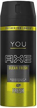 """Deospray """"Clean Fresh"""" - Axe You Clean Fresh Deodorant Spray — Bild N1"""