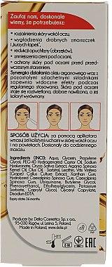 Augen Roll-On zur Glättung der Augenpartie mit Anti-Falten Gesichtscreme - Delia Argan Care Under Eye Roll-On Wrinkles Smoother — Bild N2